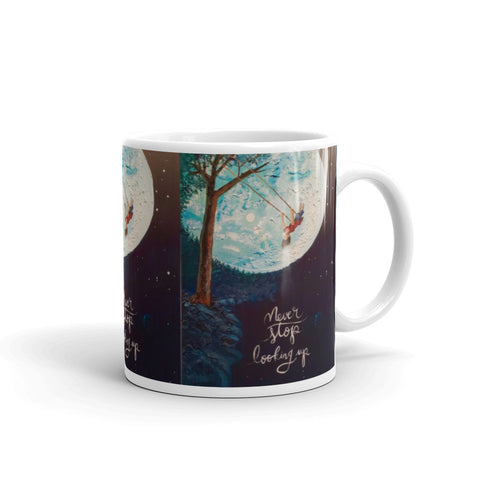 Chacasso - Never Stop Looking Up Mug