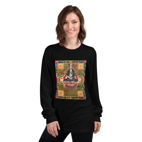 Chacasso - Freda on Flying Carpet Long sleeve t-shirt