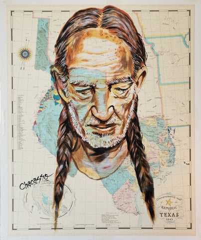 Willie Nelson Map