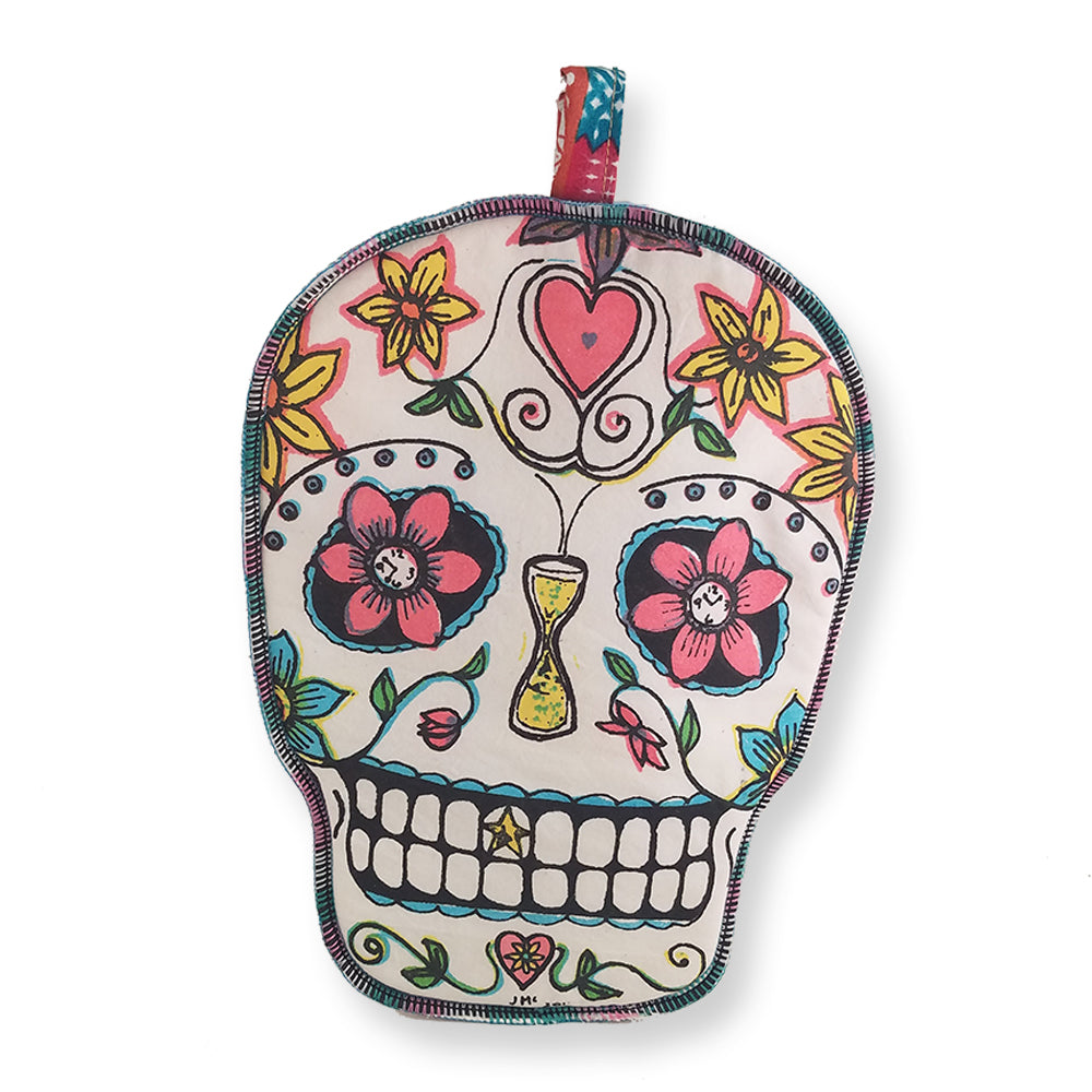 Sugar Skull Potholder