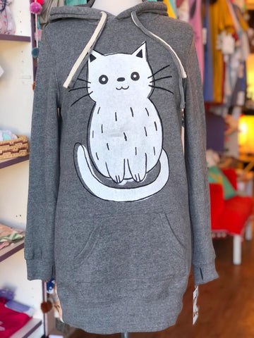 Cat Hoodie Dress
