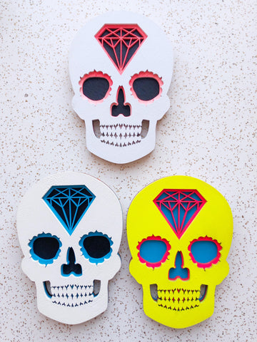 Small Skull Wall Art