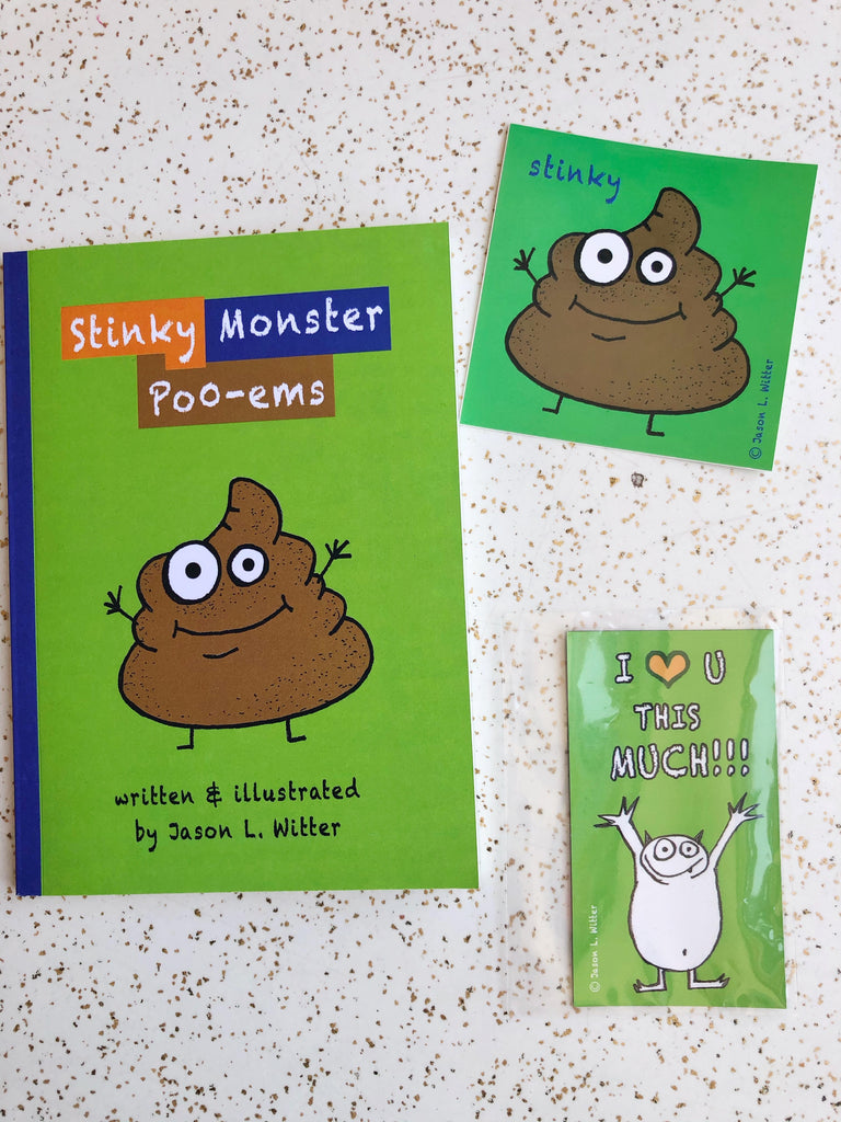 Stinky Monster Poo-ems
