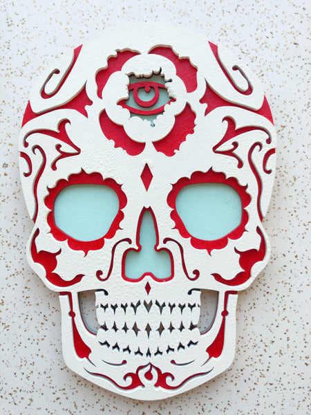 Large Skull Wall Art