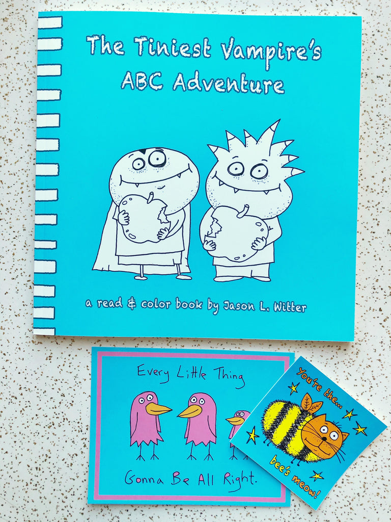 ABC Adventure Coloring Book