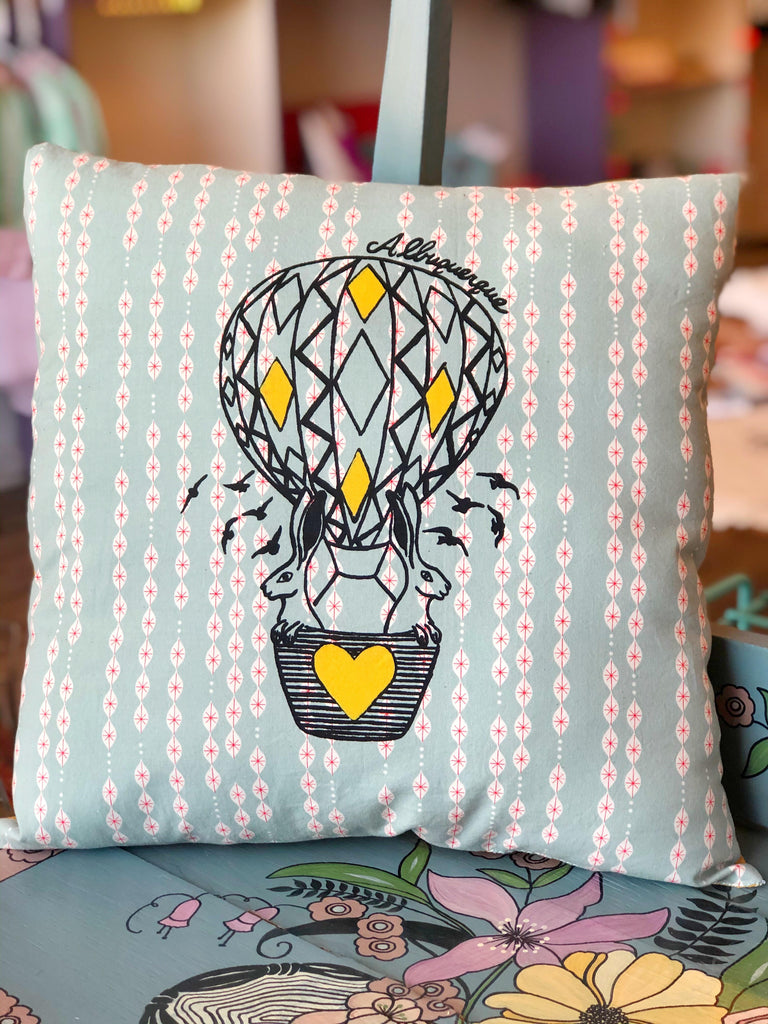 Hot Air Balloon Pillow