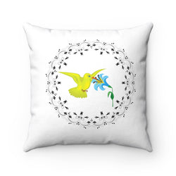 Hummingbird Accent Pillow