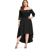 Black Plus Size Party Dress