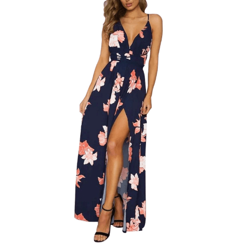 Lace Up Summer Dress