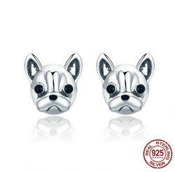 French Bull Dog Earrings