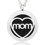 Mom Essential Oil Diffuser Necklace