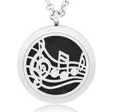 Music Lover Essential Oil Diffuser Necklace