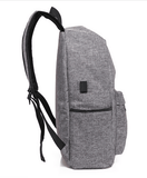 Side view USB backpack