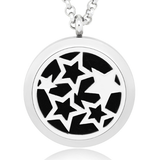 Stars Essential Oils Diffuser Necklace