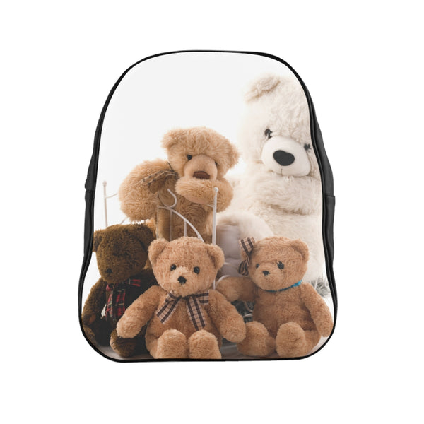 Family Teddy School Backpack