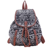 Elephant Tribal Backpack