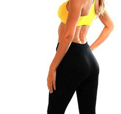 Fitness Leggings + Hot Shaper Super Abs Body Shaper Belt