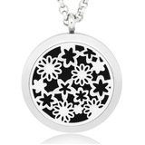 Flowers Essential Oil Diffuser Necklace