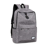 Front View USB Backpack