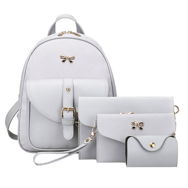 4 Pc. Backpack Set