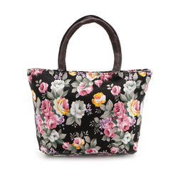 Floral Canvas Handbag
