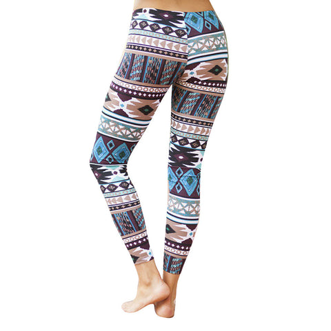 Geometric Tribal Leggings