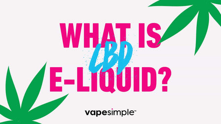 What is CBD E-Liquid?
