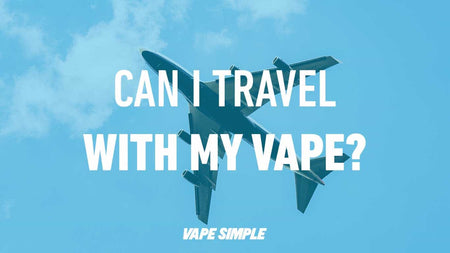 Can I Travel With My Vape?