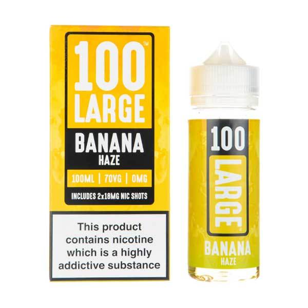 Banana Haze 100ml-Vape Simple