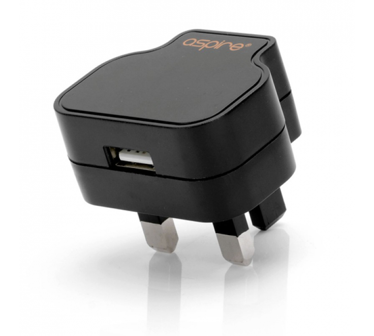 Aspire A/C Adaptor (UK Pin USB Wall Plug)