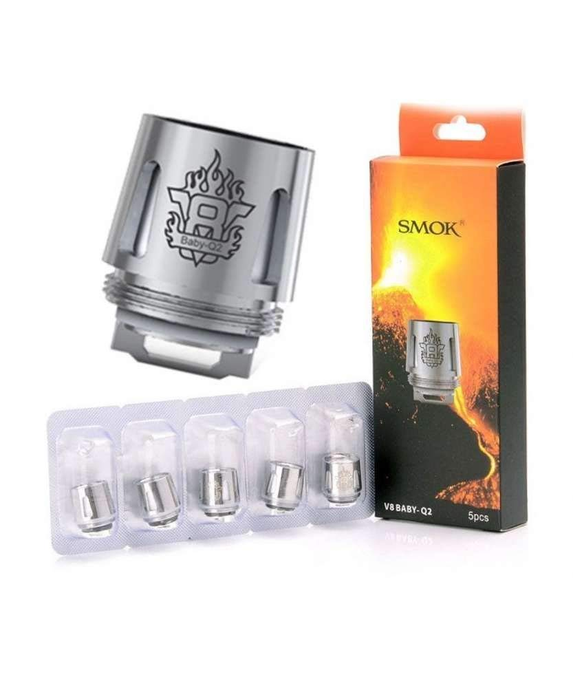 Smok TFV8 Baby Q2 coil 0.4 ohm | 5 Pack