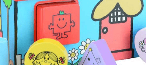 NEW!! Mr Men & Little Miss Wooden Toys