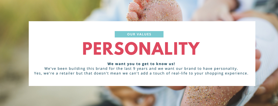 Our Values - Personality