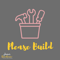 Build your wooden play kitchens, bookcases and furniture