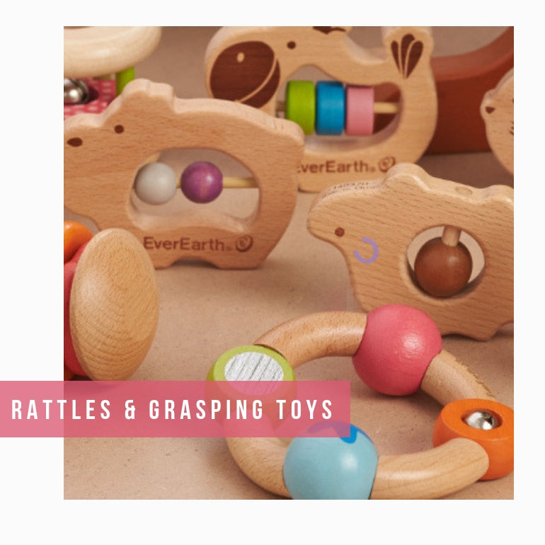 Rattles and Grasping Toys