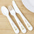 Hessian Giraffe - Personalised 3 Piece Cutlery Set