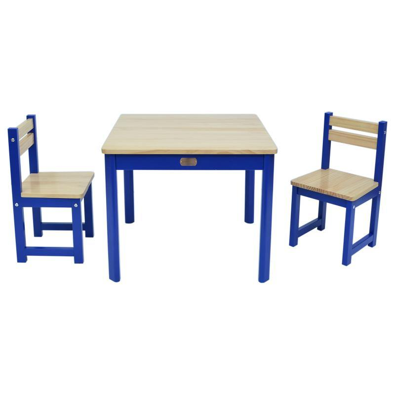 Boss Table & Chairs - Blue