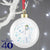The Snowman - Personalised Let it Snow Christmas Bauble