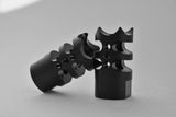 Helius Tactical Black Steel Stubby Muzzle Brake