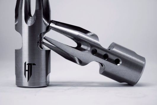 Helius Tactical Stainless Steel SHARP Muzzle Brake