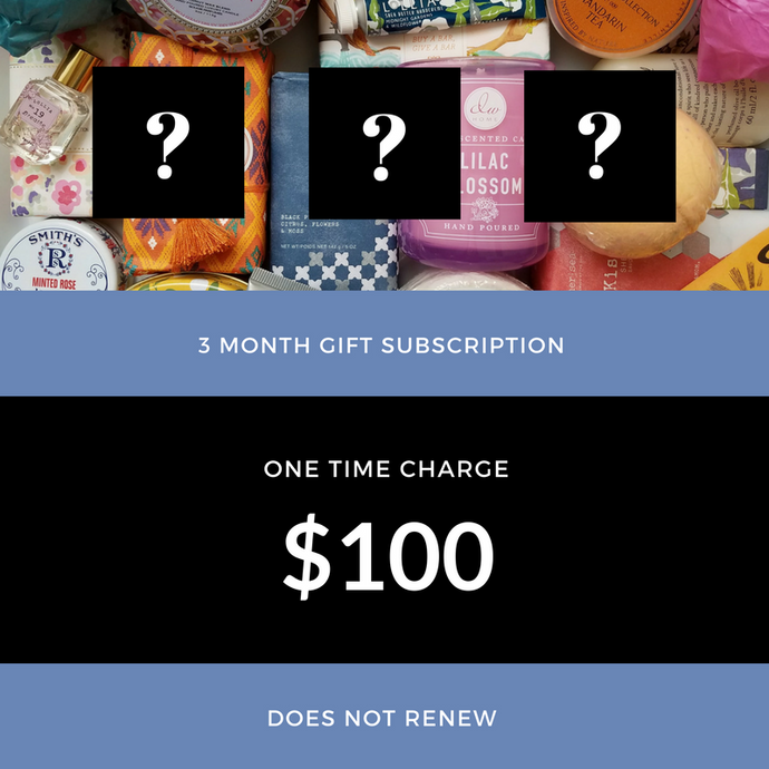NOSEJOY 3 MONTH SUBSCRIPTION