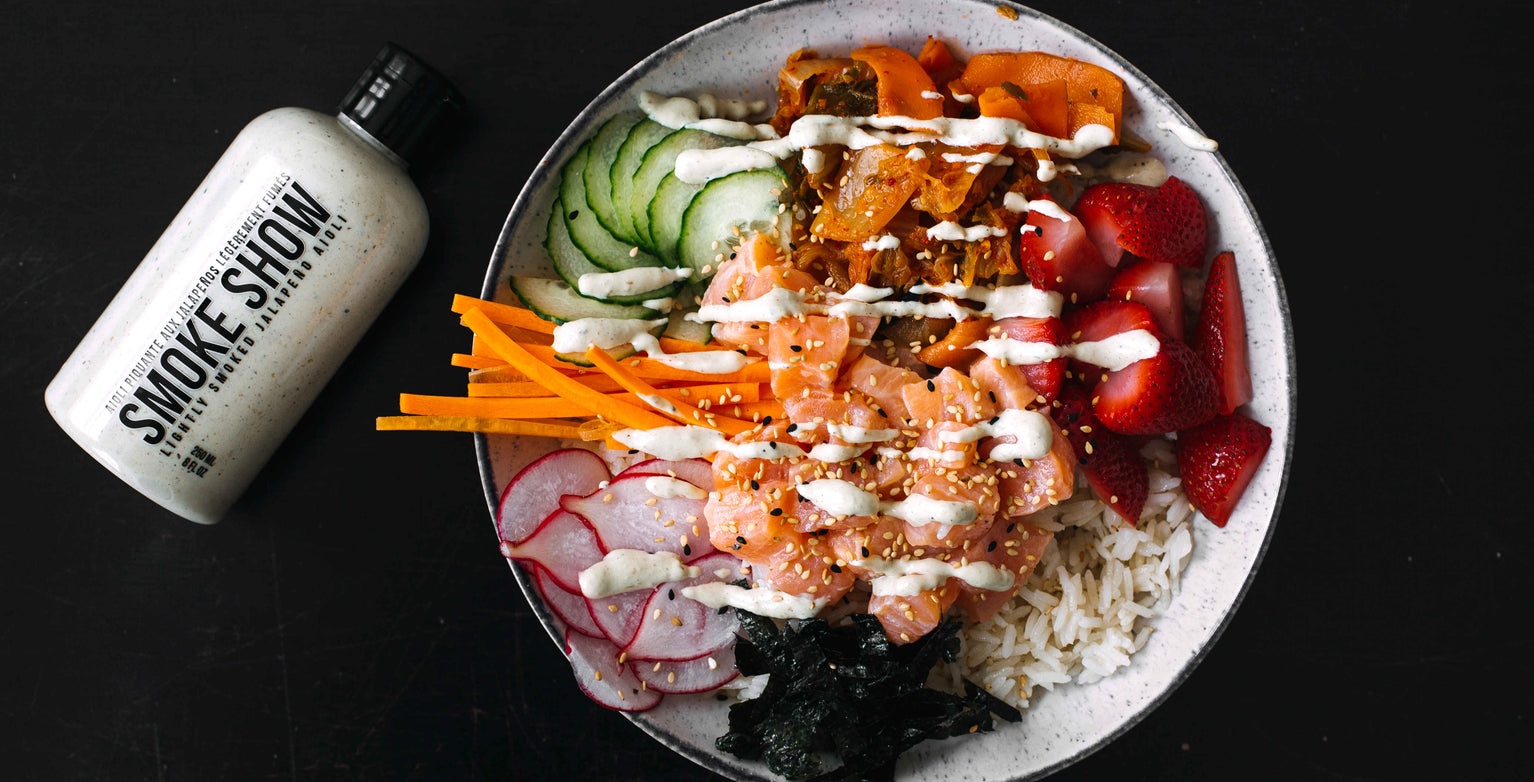 Image for Salmon Poke Bowl