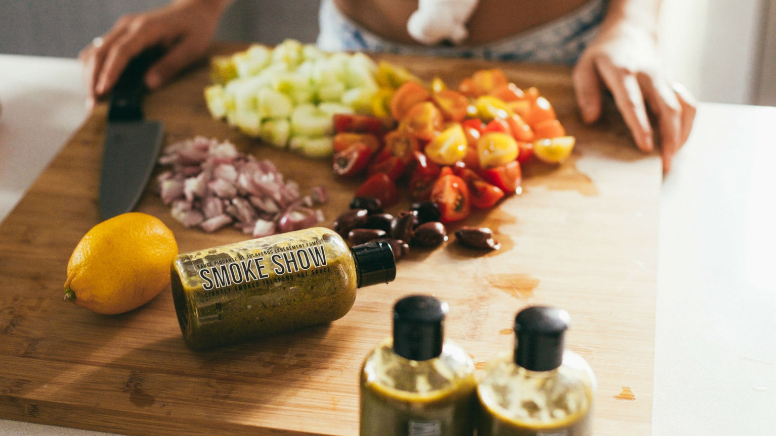 Image for Weapons of Choice: Smoke Show Lightly Smoked Jalapeño Hot Sauce
