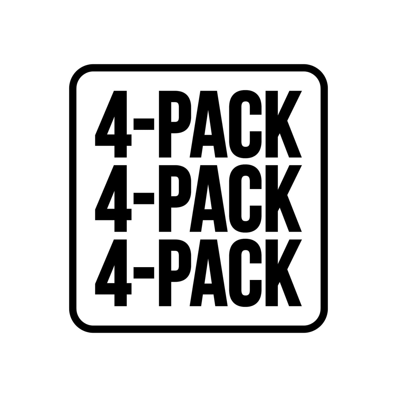 Image for Build your own 4 pack