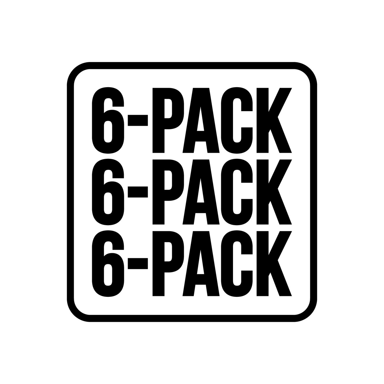 Image for Build your own 6 pack