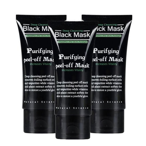 Purifying Peel Off Facemask - 3pack