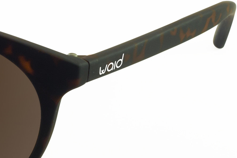 Waid Sunglasses - Tortoise - Earth Brown