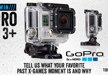 GoPro Hero3+Camera GIVEAWAY