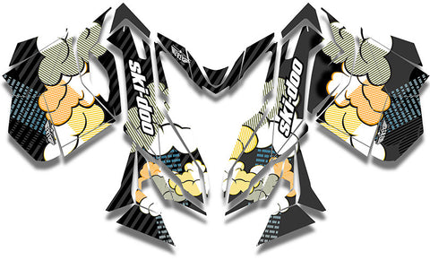 Acid Rain Ski-Doo REV-XM Sled Wrap - SCS Unlimited