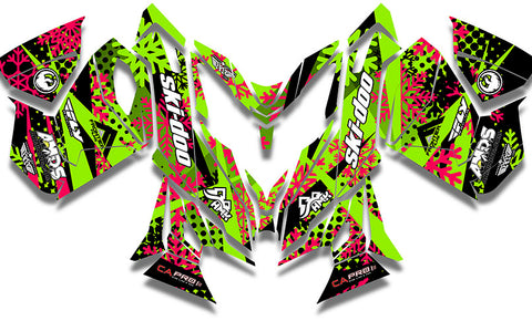 Ashley Chaffin Green Sled Wraps - SCS Unlimited
